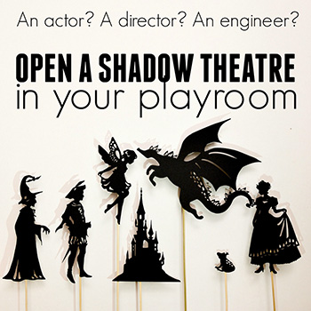 Shadow puppets for kids