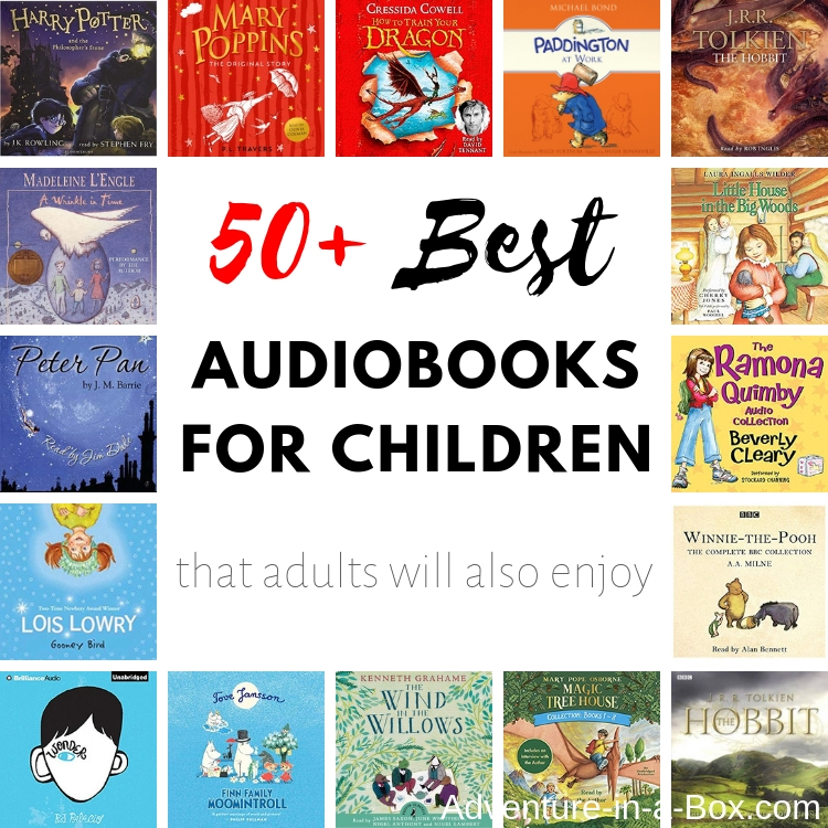 Do you have a child who loves to read? Check out our list of the best audiobooks for kids. Equally great for road trips and during quiet time at home!