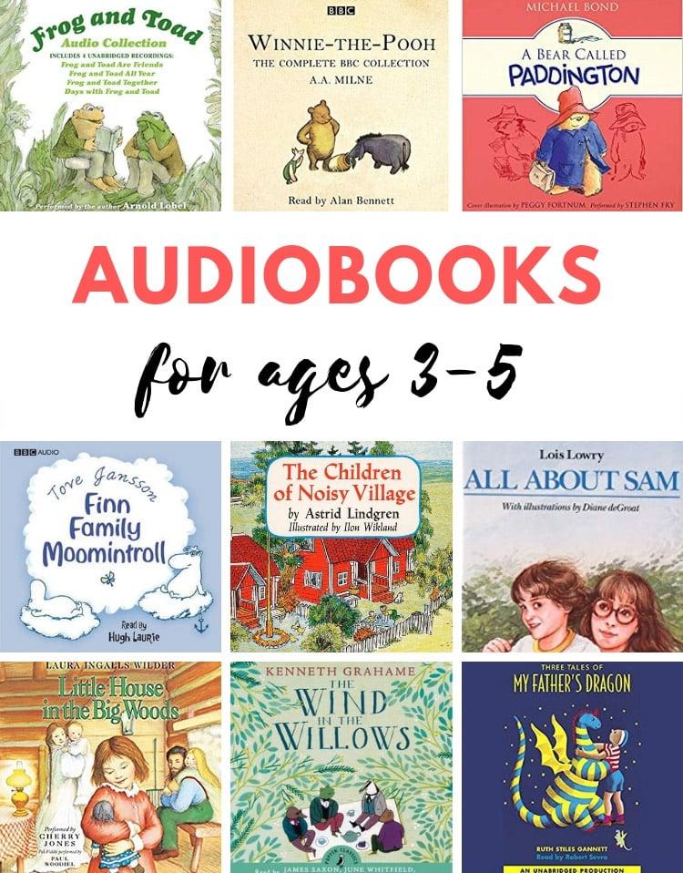 Best audiobooks for preschoolers