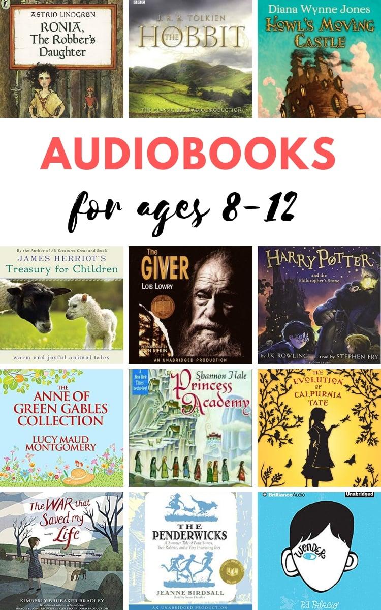Best audiobooks for tweens