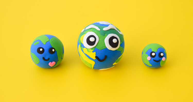 Planet Earth: Clay Craft for Earth Day & Earth Study
