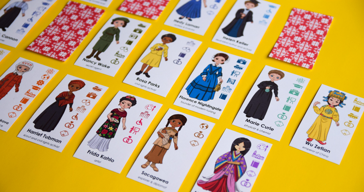 WOMEN: GUESS WHO PRINTABLE BOARD GAME