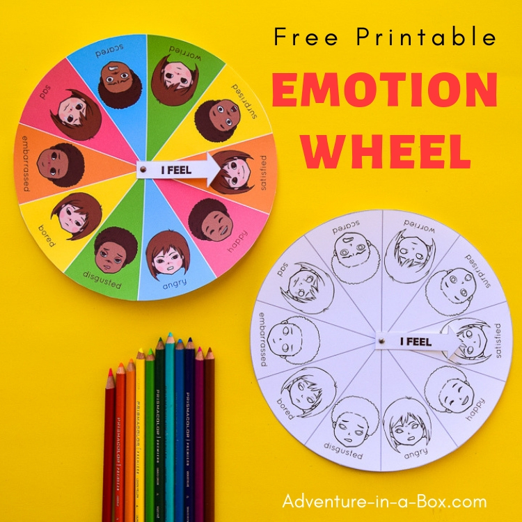 image about Printable Feelings Chart titled Free of charge Printable Temper Sensation Wheel Chart for Small children