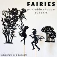 Fairyland Shadow Puppets