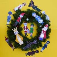 Christmas Around the World Paper Dolls