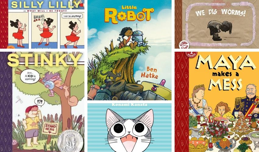 Early Reader Comic Books