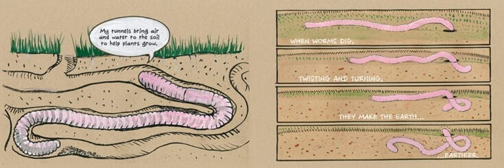 We Dig Worms! by Kevin McCloskey