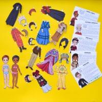 Amazing Women in History Paper Dolls