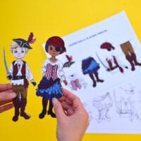 Pirate Paper Dolls (Free!)