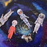 Astronaut Paper Dolls