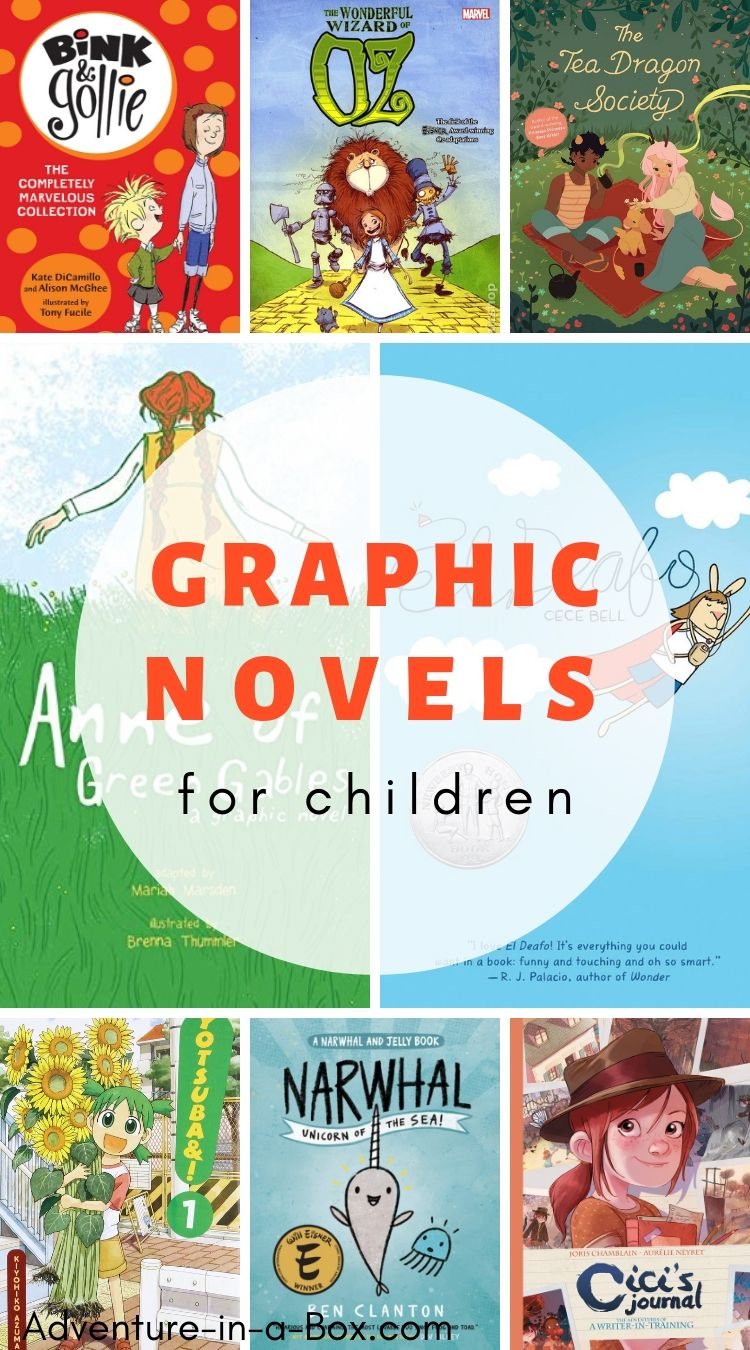Graphic novels and comic books for kids are great for encouraging interest in reading! #comicbooks #graphicnovels #childrensbooks #homeschool #homeschooling