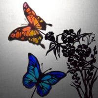 Butterflies: Colourful Shadow Puppets