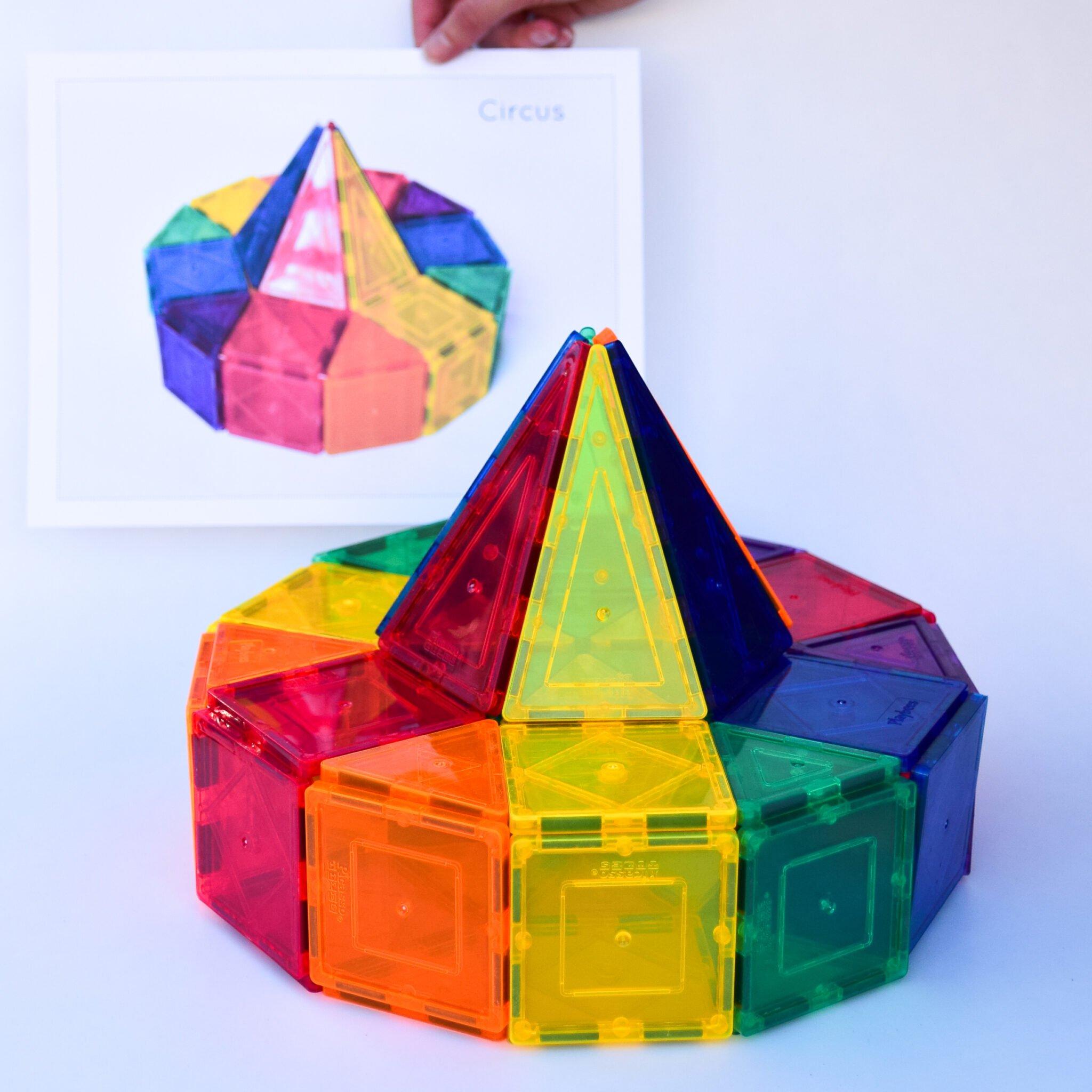 Magnetic Tiles Idea Cards 3d Creative Designs Adventure In A Box