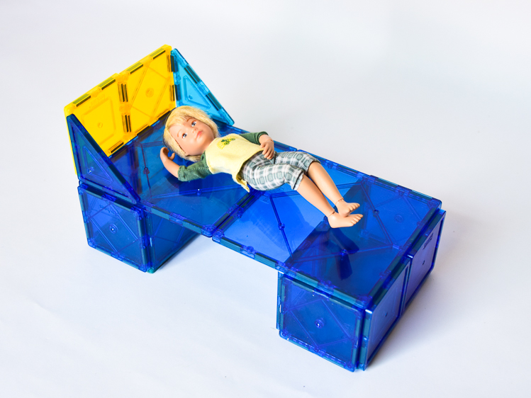 Magna Tile Doll Furniture