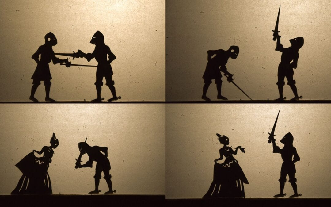 How to Make Shadow Puppets with Moving Parts