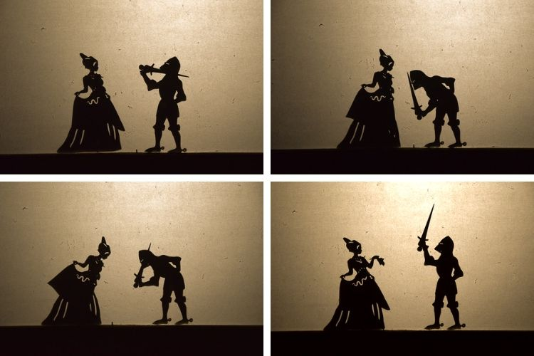 Shadow puppet play collage 2
