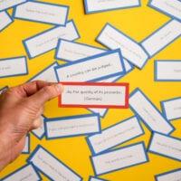 Proverbs Board Game
