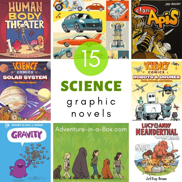 15 Science Graphic Novels for Kids