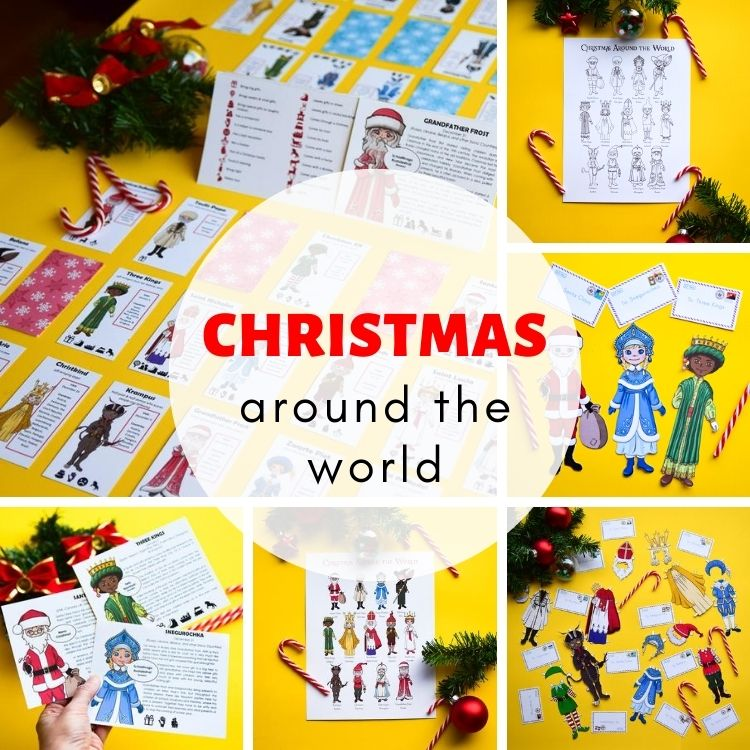 Christmas around the world for kids