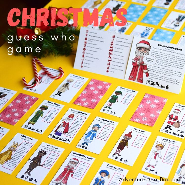 Christmas Guess Who Game