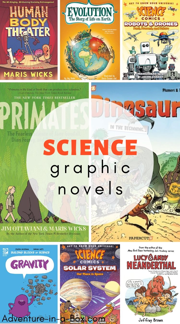Science comic books for kids