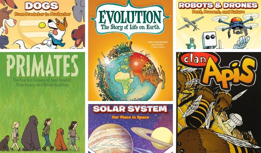 Science Graphic Novels