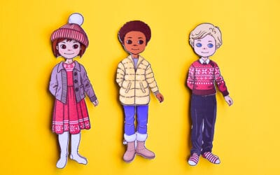 Free Printable Winter Paper Dolls