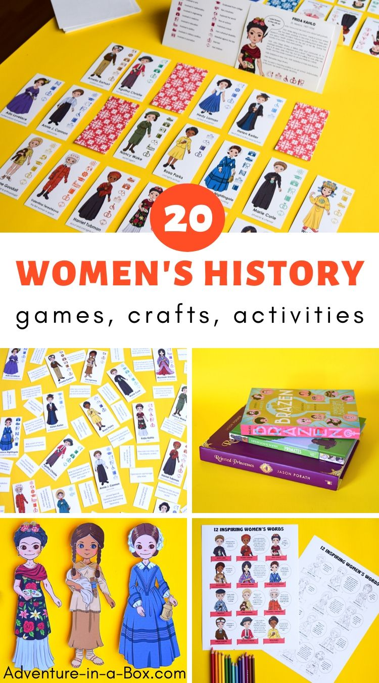 Famous Women in History for Kids