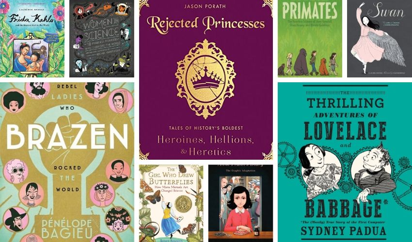 Women in History Books for Kids