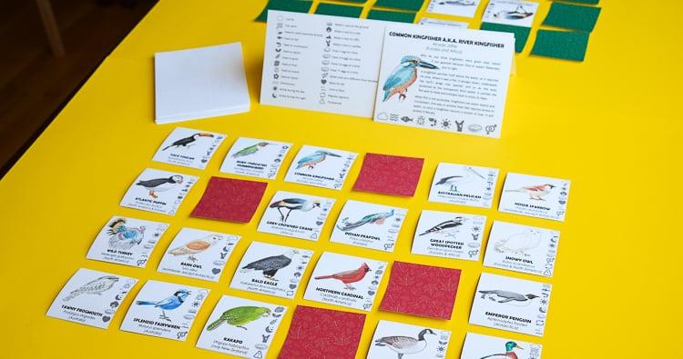 What Bird Am I: Game