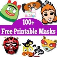 100+ Free Printable Masks for Kids