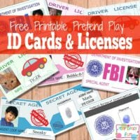 Licenses and ID Cards For Kids