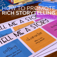 Tell Me a Story Cards