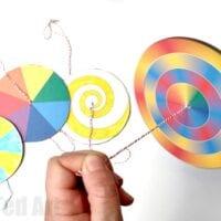 Paper Spinner Toys
