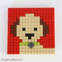 LEGO Animal Mosaic Cards