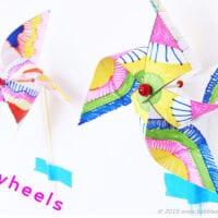 Op-Art Pinwheels