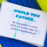 Would You Rather? Questions.
