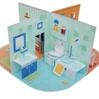 Pop-Up Doll House