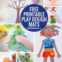 Play-Dough Mats