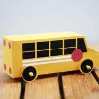 Printable School Bus