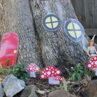 Printable fairy garden
