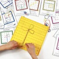 Spring Geoboard Cards