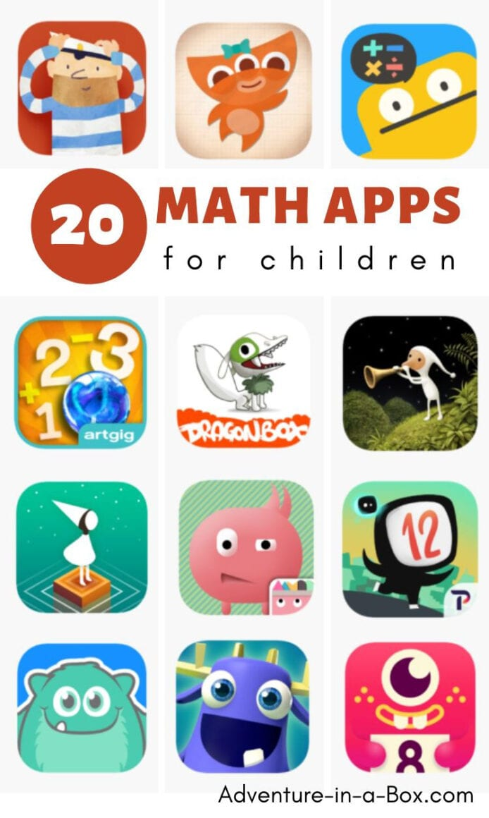20 Fun Math Apps for Elementary Students