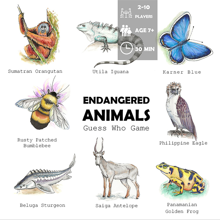 Endangered Animals for Kids