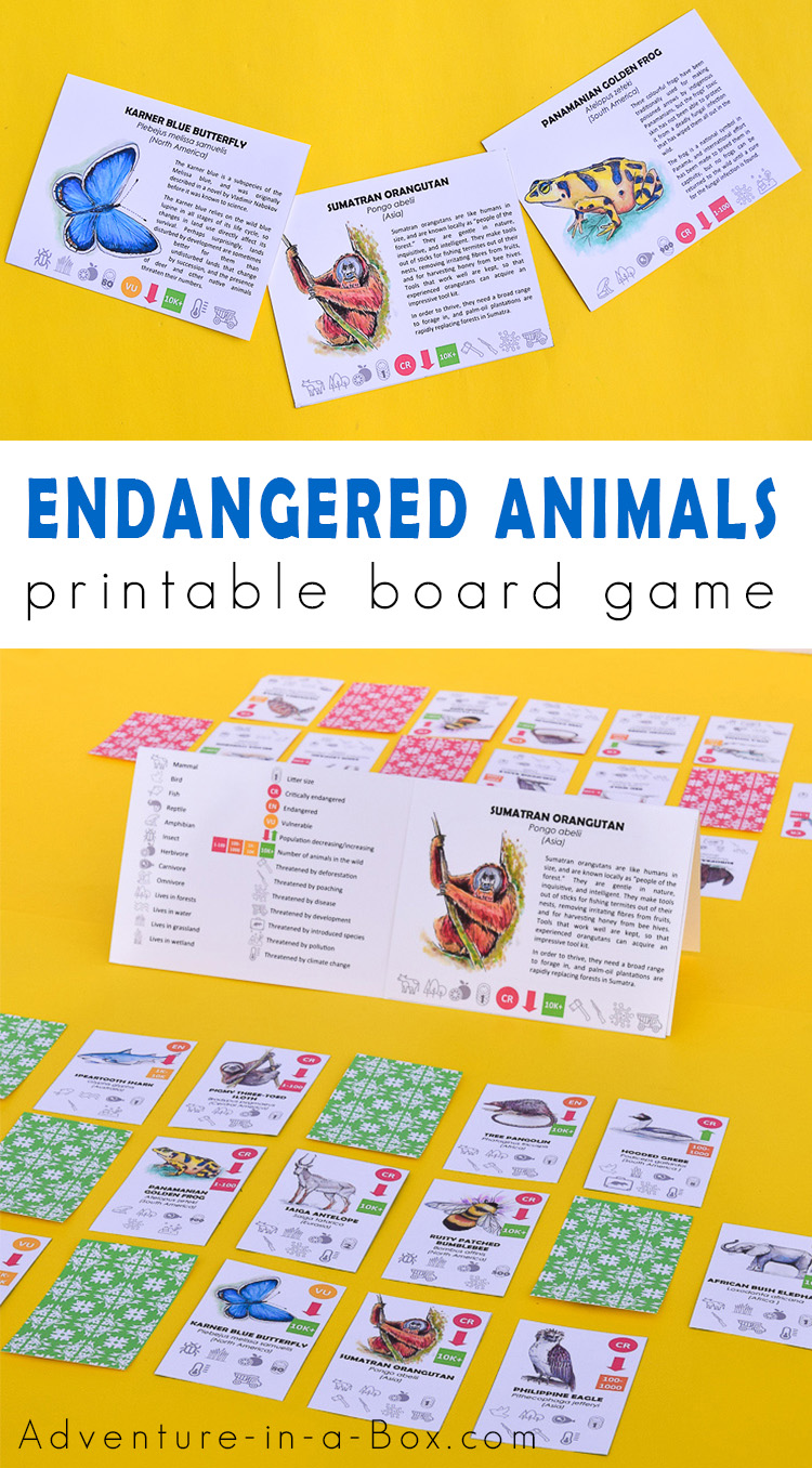 Endangered Animals Game