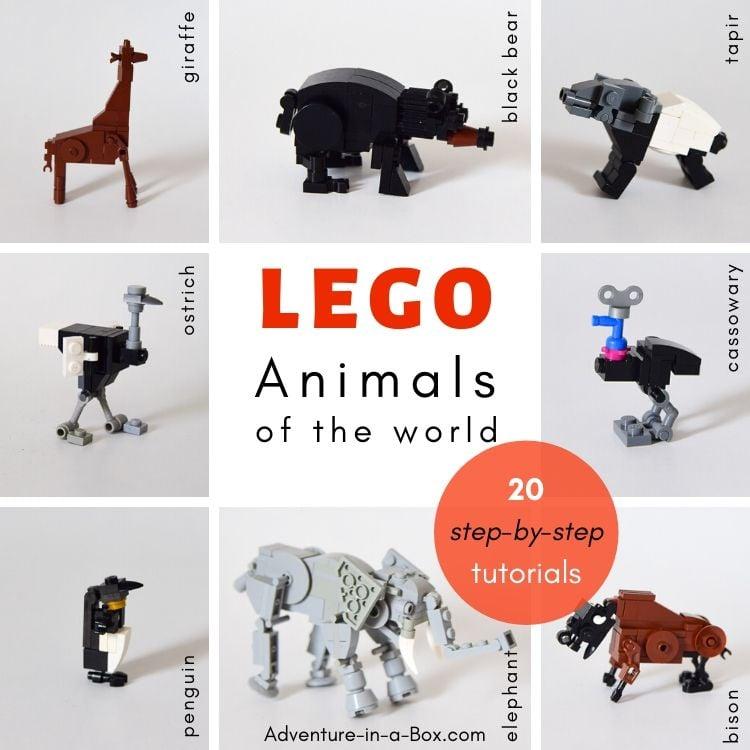 LEGO Animal Designs