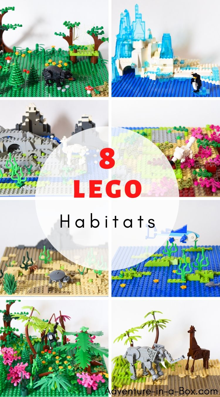 LEGO Animal Habitats