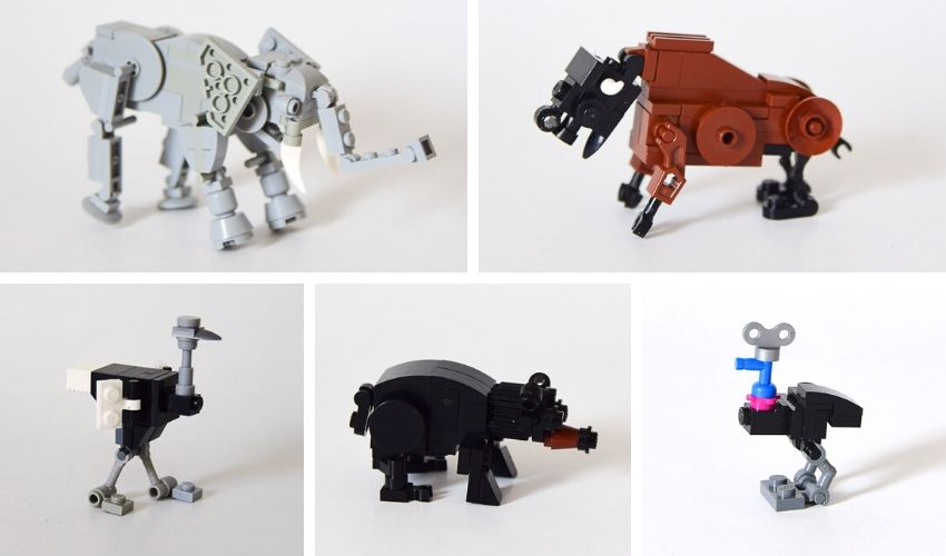 LEGO Animals Instructions