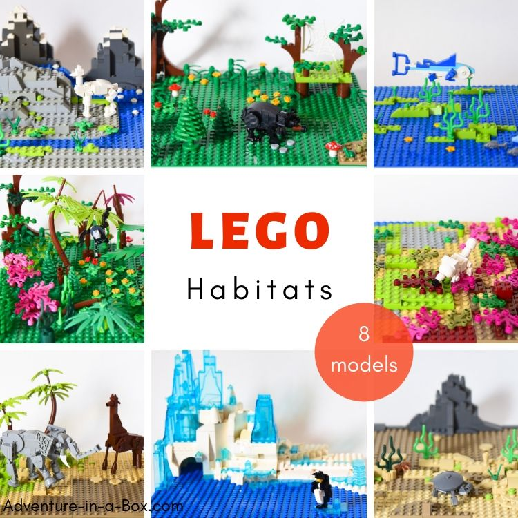 Lego Animal Habitat Project