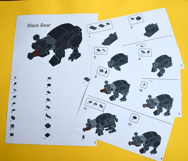 LEGO Animal Instructions
